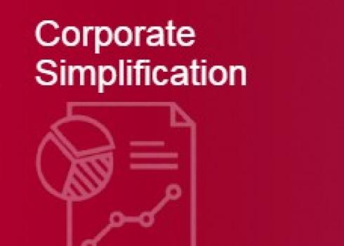 Corporate Simplification